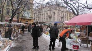 Rynok Square'den Opera Binasına giderken tesadüfen denk geldiğimiz bir pazar. Hem bit pazarı kıvamında hemde birinci el hediyelik eşyalar var.
